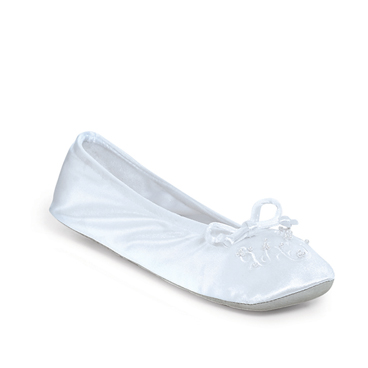 Polyester Stretchy Bridal Ballet Slippers For Weddings