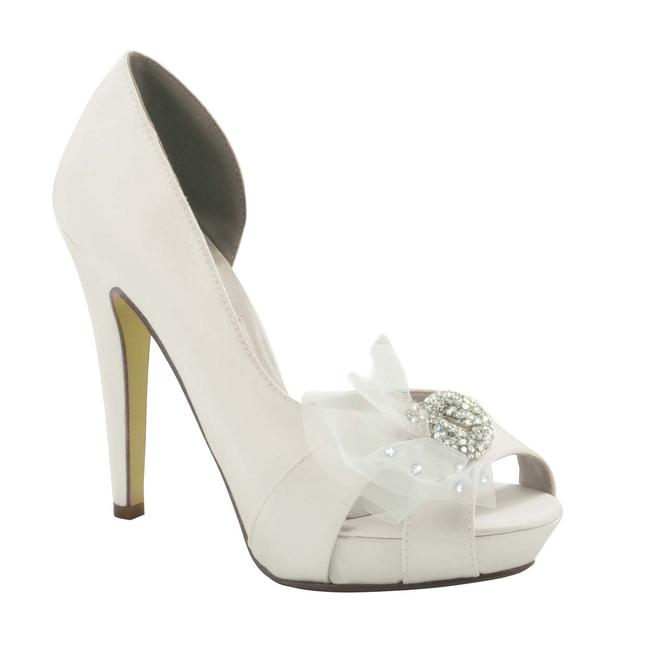 Dyeable bridal  sandals in wide, narrow, & medium widths