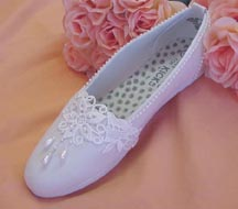 Comfortable Flats & Dyeable Slippers for Brides